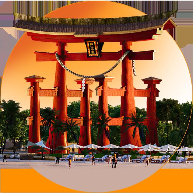 Takashi Ocean Suite Kỳ lấy cảm hứng từ các thành phố nổi tiếng của Nhật