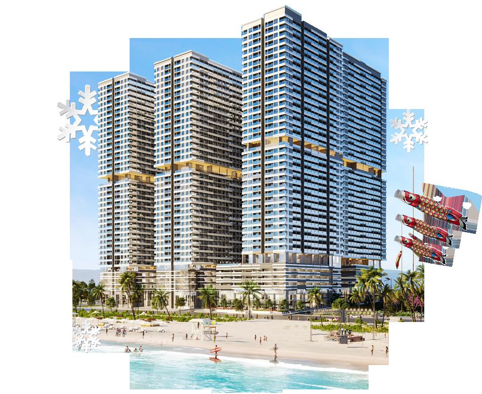 Phân khu Sapporo cảm hứng từ thiên đường tuyết trắng