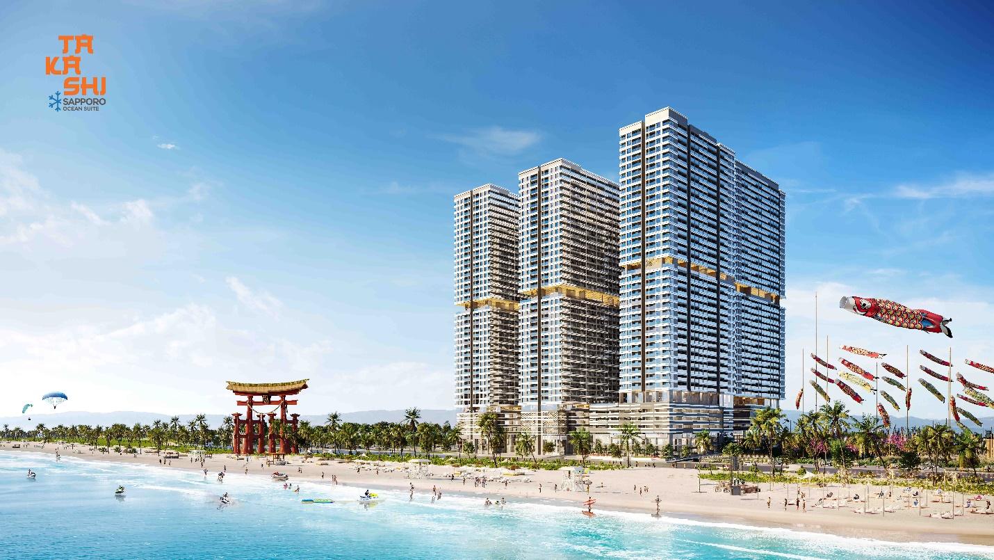 Takashi Ocean Suite Kỳ Co thu hút các nhà đầu tư với mức sinh lời hấp dẫn.