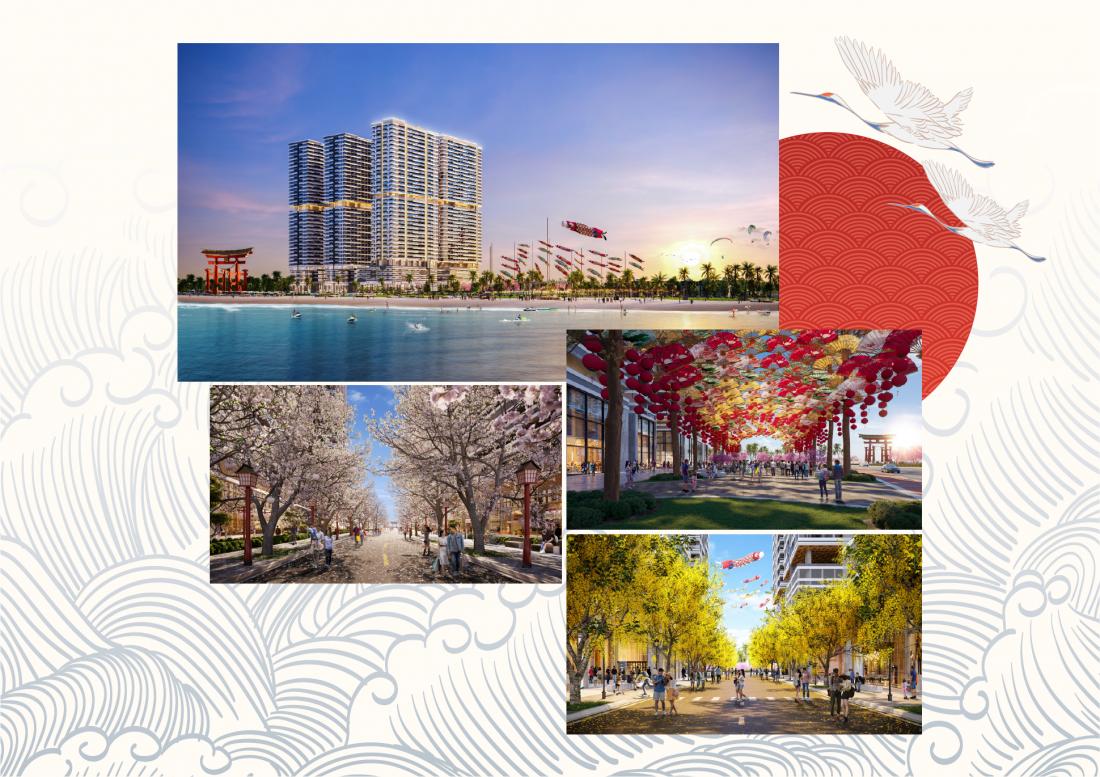 Takashi Ocean Suite Kỳ Colà Khu đô thị biển có nhiều ưu thế, nhiều tiềm năng trong chuỗi cung ứng dành cho đô thị cảng biển kết hợp bất động sản công nghiệp đang rất phát triển và được quan tâm.