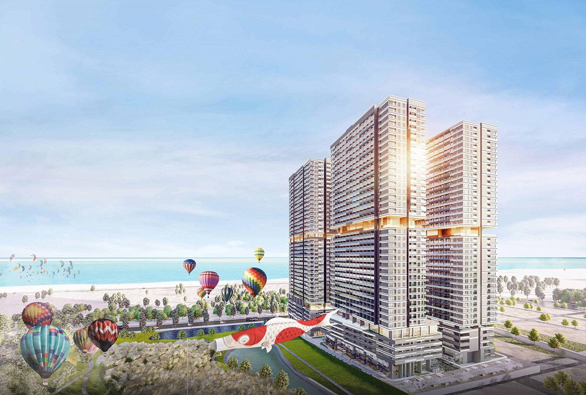 Khu đô thị Takashi Ocean Suite Kỳ Co theo phong cách Nhật đặc sắc bên vịnh biển Quy Nhơn