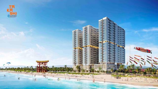 Khu đô thị biển Takashi Ocean Suite Kỳ Co sẽ trở thành tâm điểm giải trí sôi động mang phong cách Nhật Bản tại Quy Nhơn.