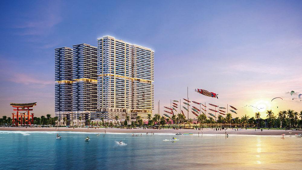 Takashi Ocean Suite Kỳ Co – Khu đô thị biển phong cách Nhật đa trải nghiệm đầu tiên tại Quy Nhơn (Ảnh: Danh Khôi Group)