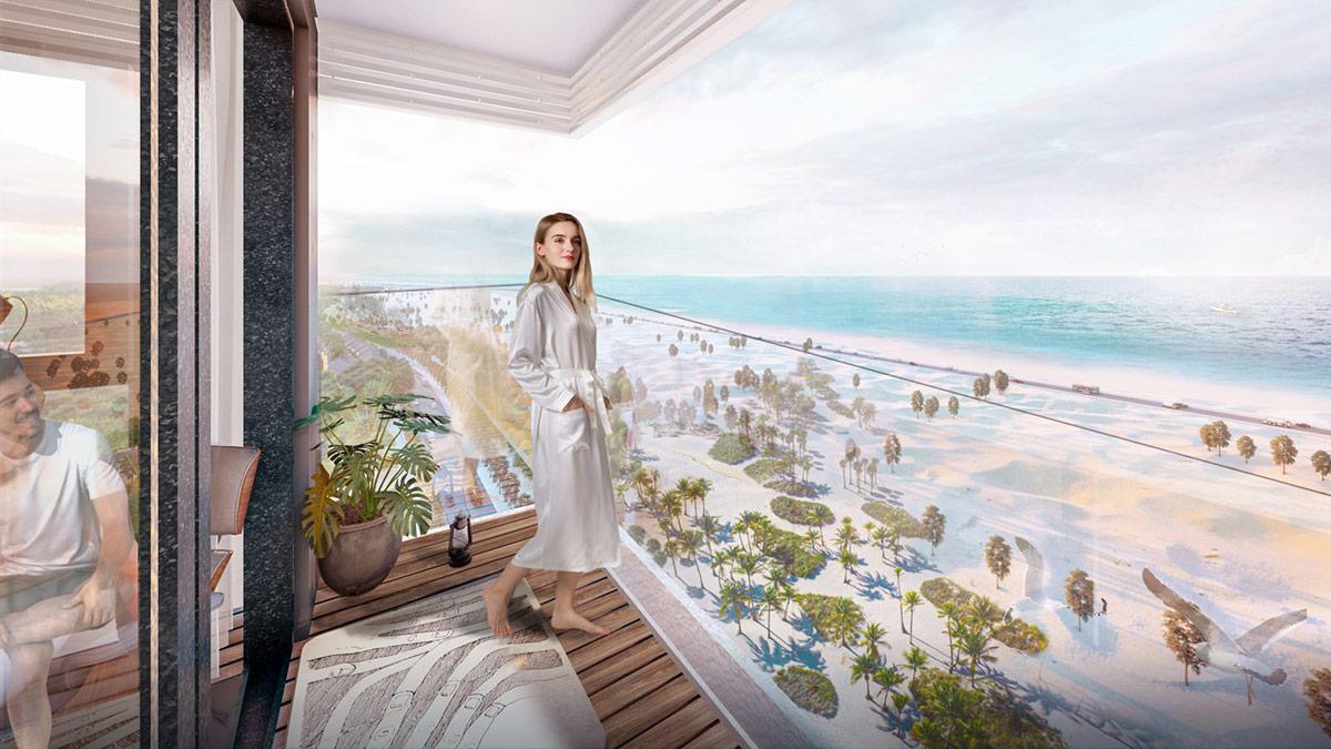 Các căn hộ Ocean Suite tối ưu tầm nhìn hướng biển