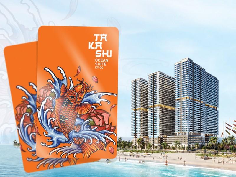Tặng gói bảo hiểm đầu tư cho KH đồng hành cùng Takashi Ocean Suite Kỳ Co