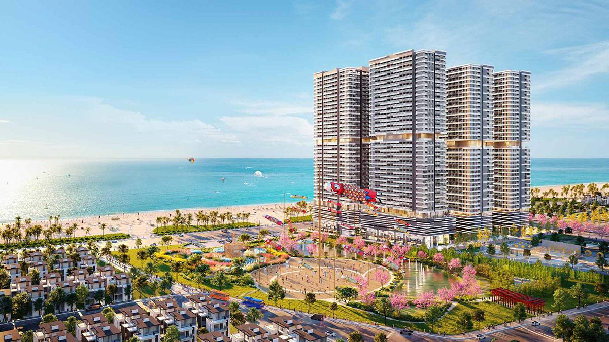Takashi Ocean Suite Kỳ Co – Khu đô thị đa trải nghiệm tại Quy Nhơn. Ảnh: Tập đoàn Danh Khôi.